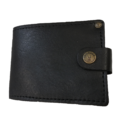 Leather Zip less Card Wallet