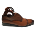 Italiano tan brown formal oxfords