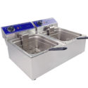 Electric double fryer 10L