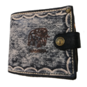 Leather Zip Wallet – Medium