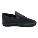 Black Leather Smart Vellies