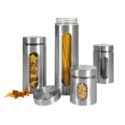 No Brand – 4 Piece Glass Canister