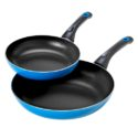 Monella – 20 & 26cm 2 Piece Fry Pan Set Blue