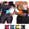 Unisex Waist Body Trainers Shapers and Sauna Effect Tummy Slimming Belts