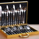 24PCS Stainless Steel Premium Quality Tableware Cutlery Set