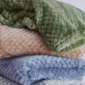 Fleece Winter Soft Throw Soft Blanket Bedspread