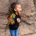 Kiddies Tailor Made African Print Design Hoodie For Girls
