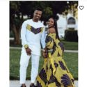 For Him & For Her Tailor Made African Print Design Matching Outfits 4
