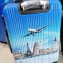 Travel The World Trolley Suitcase