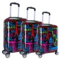 Multi City Rolling Luggage Trolley Suitcase