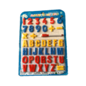 Magnetic Numbers, Letters & Math Operators
