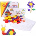125pcs Wooden Puzzle Blocks