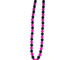 Selma's Oshiwambo pink& black berry neck piece