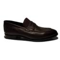 Wings Dark brown formal loafers