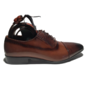 Smart Fashion Brown leather oxfords