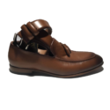 Marco Cassetti leather formal loafers