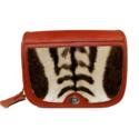 Leather Zebra Handbag