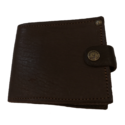 Leather Card Wallet with Zip
