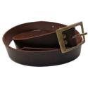 Leather Belt Medium – Plain