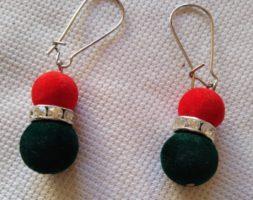 Thamina's majestic earrings