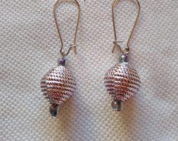 Thamina's onion glam earrings