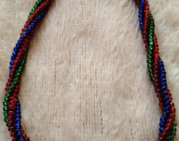 Swapo twisted necklace