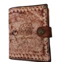 Leather Card Wallet Flips
