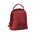 880164 – Maroon PU Backpack