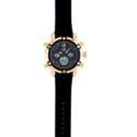 80740 – Rose Gold Plated Analogue And Digital Watch