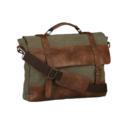 880222 – Khaki Canvas Messenger Bag