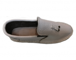 Leather Smart Vellies – White