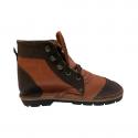 Brown Leather Safari Boots