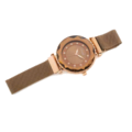 80733 – Rose Gold Plated Bracelet Style Watch