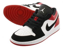 """Black Toe"" Men's Nike Air Jordan 1 Low"