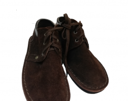 Leather Boots Velvet – Dark Brown