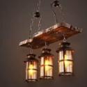Rustic hanging pendant product code: TTE 00435/3