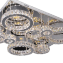 Circles Ceiling Base Chandelier product code: TTE 8906 950mm*750mm