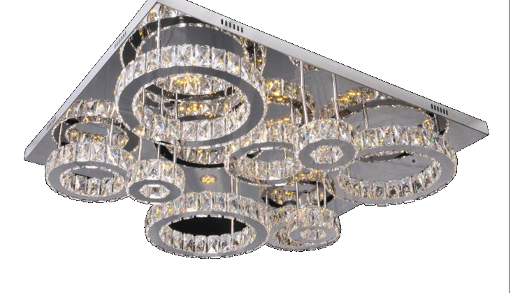 circle ceiling base chandelier-Yormarket online shopping