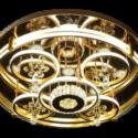 Golden stainless steel Round Chandeliers