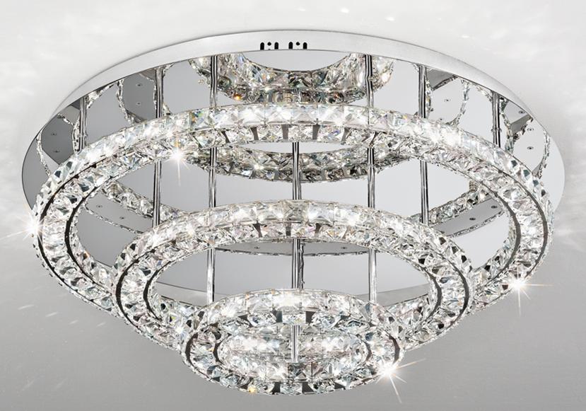 Crystal Elegant Ceiling Base Chandeliers