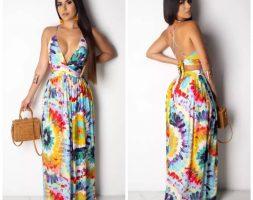 Spring Summer Maxi Loose Maxi Dress