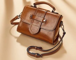 Brown – Shoulder Slanted Small Handbag