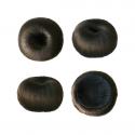 Clip in Donut Bun – Plain