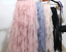 Fairy Net Yarn Women Skirt