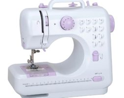 Mini 12 Stitches Handheld Portable Household Multifunction Double Thread and Speed Free Arm Sewing Machine