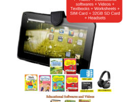E-Learning 7″ Tablet Combo