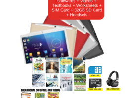 E-Learning 10″ Tablet Combo