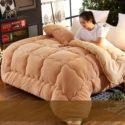 100% Cotton Warm Queen Size Winter Comforter Blanket