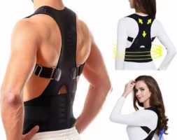 Adjustable Magnetic Therapy Back Posture Corrector – Brace Shoulder Support