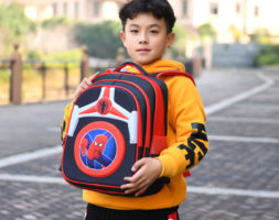Spiderman boys backpack